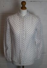 JACK WILLS Ladies Spotted Floral Pattern SHIRT / BLOUSE - Size UK 8 - US 4