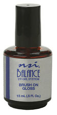 NSI Balance UV Gel Brush On Gloss 1/2 Oz - 7783