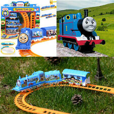 DIY Electric Tomas Train Handcrafted Kid Developmental Toys Christmas Gifts NEW