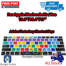 "Adobe Photoshop Keyboard Cover Protector for Apple MacBook Pro Air 13.3"" 15"" 17"