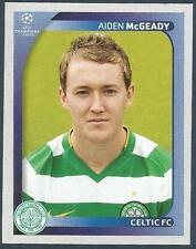 PANINI UEFA CHAMPIONS LEAGUE 2008-09- #208-CELTIC & EIRE-AIDEN McGEADY