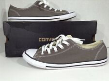 CONVERSE All Star Women's Size 9 Gray Lace Up Sneakers Shoes X1-1840