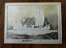 Franklin Mint Great Sailing Ships of History Sterling Ingot Pharaoh Sahure's Shi