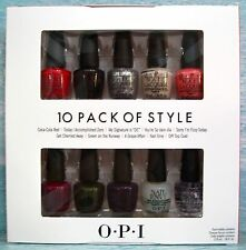 OPI Coca-Cola 10 PACK OF STYLE Set ~ Red Zero DC Fizzy Green Grape Nail Envy Top