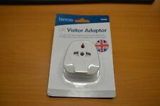 benross Worldwide European USA American China Visitor to UK Travel Plug Adaptor