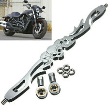 Chrome Skull Shift Linkage Motorcycle For Harley Softail Road King Electra Glide