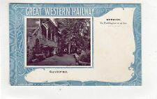 GUY'S CLIFF MILL, WARWICK: Great Western Railway postcard (C23852)