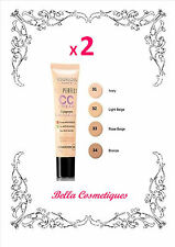 BULK 2 X BOURJOIS 123 PERFECT CC CREAM FOUNDATION 30MLS 33 ROSE BEIGE