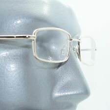 Nearsighted Farsighted Reading Glasses Myopic Presbyopic Gold Minus -2.50 Lens
