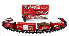 COCA COLA LIONEL CHRISTMAS HOLIDAY TRAIN SET G SCALE PLUS BATTERY PACK & CHARGER