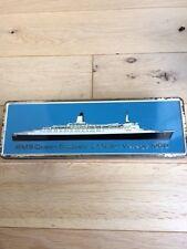 CUNARD LINE QE2 RMS QUEEN ELIZABETH 2 MAIDEN VOYAGE ROTHMANS CIGARETTE TIN 1969