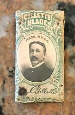 Vintage 1912 King C. Gillette Blades No Stropping No Honing Made In USA