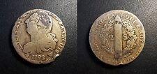 Louis XVI - Constitution - 2 sols au faisceau François 1792 an 4 W, Lille