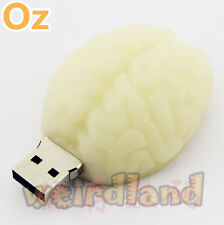 Brain USB Stick, 16GB Quality 3D USB Flash Drives WeirdLand