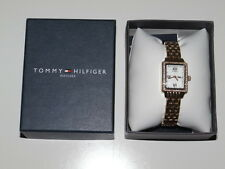 Tommy Hilfiger Women's Gold Wrist Watch Japan Movement 1781107 Msrp $145 SALE