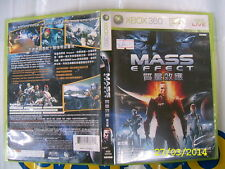 XBOX360 GAME MASS EFFECT (ORIGINAL USED)