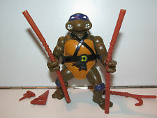TMNT TEENAGE MUTANT NINJA TURTLES 1988 DONATELLO 98% COMPLETE MIRAGE PLAYMATES
