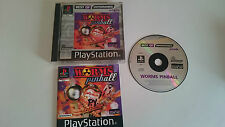 JUEGO COMPLETO WORMS PINBALL PLAYSTATION 1 PS1 PSX.PAL.