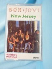 Jon Bon Jovi New Jersey Cassette Tape Thomsun Original Import Series EN-2585