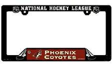 NHL® Phoenix Coyotes Plastic License Plate Holder - SUPPORT YOUR TEAM