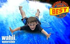World's Biggest Backyard Waterslide  slip n slide  75ft