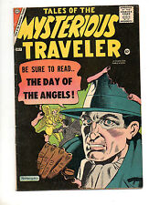 Tales of the Mysterious Traveler #8 1958! F/VF 7.0 DITKO Pre Amazing Fantasy #15