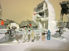 LOT STAR WARS MICRO MACHINES ACTION FLEET HOTH PLAYSET AT-AT SNOWSPEEDER FIGURES