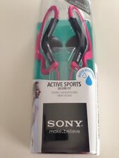 Sony MDR-AS200 Active Sports Earbuds Headphones MDRAS200 - Pink - New Open Box