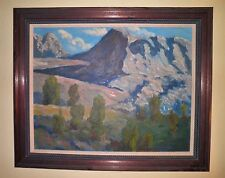 California Plein Air Impressionism High Sierras Mountain Landscape Oil Painting