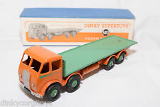 P DINKY TOYS 503 FODEN FLAT TRUCK TRUCK 1ST TYPE EXC. BOXED RARE SELTEN