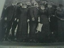 magazine article -  ww1 world war one - the officials of rheims in anti poison g