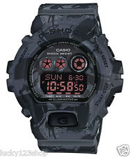 GD-X6900MC-1D Black G-shock Casio Men's Watches 200m Resin Camouflage Edition