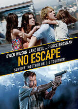 No Escape DVD DISC/CASE ONLY imperfect cover previous viewed rental Owen Wilson