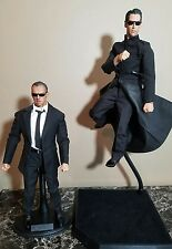 The Mateix neo and agent smith custom figure 1/6 scale