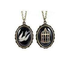Bioshock Infinite Bird/Cage Necklace