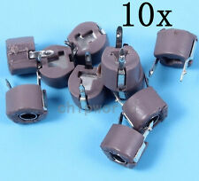 10pcs 120PF Adjustable Capacitance D6mm 25pf--120pf Trimmer Capacitor