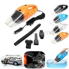 Portable 12V 120W Car Vehicle Caravan Handheld Auto Vacuum Dirt Cleaner Wet &Dry