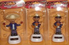 (3)Solar Powered Dancing Mariachi  Player( 3 pack)
