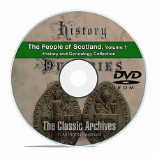 Scotland Vol 1 People Cities Towns History and Genealogy 124 Books DVD CD B47