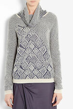 SEE BY CHLOE TRIBAL INTARSIA JUMPER MADE IN ITALY SIZE 10/12 RETAIL £279..SALE!