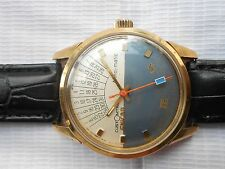 VTG COLLECTIBLE CUSTOMTIME ANNOMATIC ENICAR SHERPA STAR MEN AUTOMATIC WRISTWATCH