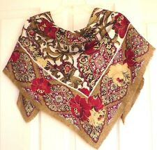 Express Very Elegant 100% Polyester Design Scarf, Made in Italy, NWT!