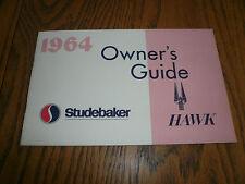 1964 Studebaker Owner's Guide Challenger Commander Daytona Cruiser - Glove Box