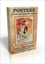 Posters of the Art Nouveau period - 350 public domain images on DVD inc. Chéret