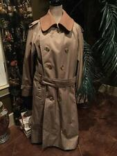 NEW Burberry London Trench Coat Taupe Nova Check w/ Removable wool Lining 42 MEN