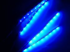 """Superbright RC Blue Underbody Underglow LED Strip Lights FPV Quadcopter 6"""""""