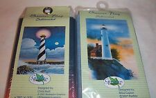 Lighthouse Nautical Scene NEW Outdoor Flag Lot 2 Sizes Ocean Sea Marine Scene