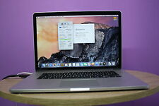 Apple MacBook Pro Retina A1398 15.4''  i7 2.0GHZ 8GB 256GB SSD Warranty GRADE B+