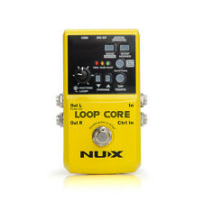 NUX Pro-Loop Core Guitar Effect Pedal 6h Recording Built-in Drum Pattern New