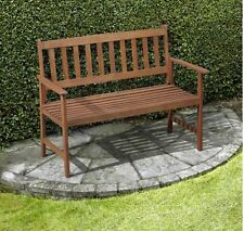LATTICE GARDEN BENCH